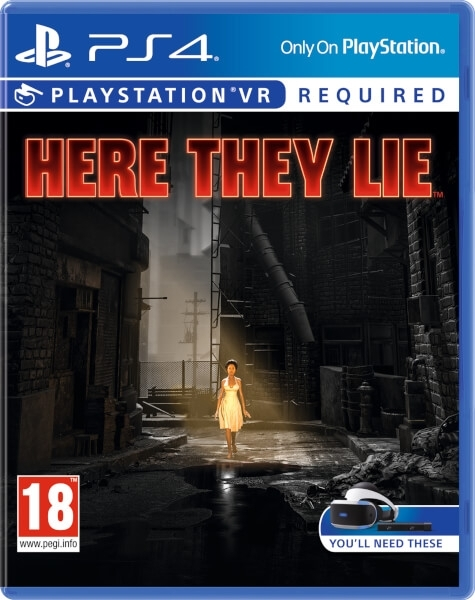 Here They Lie VR PL (PS4)